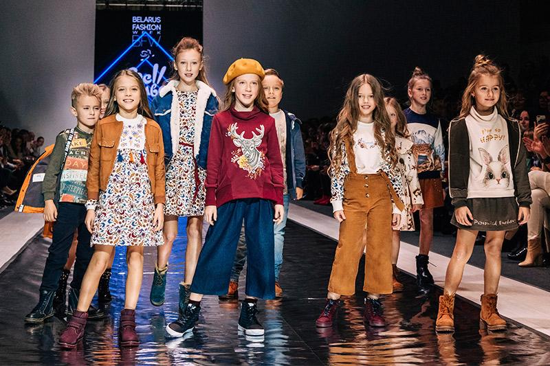Дизайнеры представили новые коллекции детской одежды на Неделе Детской Моды в Минске